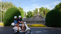 City Tour around Madrid in Vespa with Driver and Tapas or Picnic