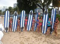 Pine Grove Beach Surf Lesson in San Juan