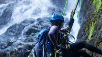 Big Waterfall Rappel Adventure from San Juan