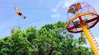 Rainforest Zipline Experience at the Foothills of El Yunque from San Juan