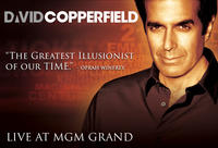 Vegas Night Out: David Copperfield and Dinner at MGM Grand