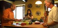 Small-Group Cooking Lesson in Roman Countryside
