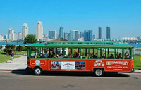 San Diego Tour: Hop-on-Hop-off-Trolleybus