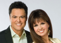 Donnie och Marie Osmond - Flamingo Las Vegas
