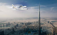 Dubai Seaplane Flight from Abu Dhabi Including Dubai Mall and Return Transfer