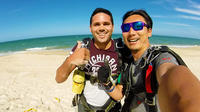Bribie Island Beach skydive from up to 15,000ft