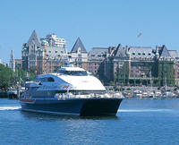 High-Speed Passenger Ferry From Victoria, British Columbia to Seattle, Washington