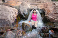 Black Canyon Hike and Desert Hot Springs Day Trip from Las Vegas