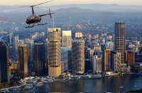Brisbane Helicopter Tour: Super Saver Scenic Flight