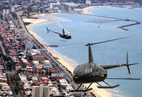 Melbourne Helicopter Tour: City Center and St Kilda Beach