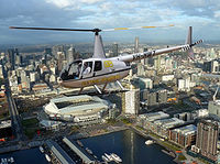 Melbourne Helicopter Flight