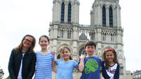 Paris Notre Dame Pantheon and Latin Quarter Private Tour for Kids and Families
