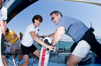 Dennis Conner's Sailing Experience Aboard America's Cup Yachts