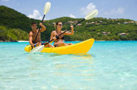 Picture of St Thomas Shore Excursion: Hassel Island Kayak, Hike and Snorkel Tour