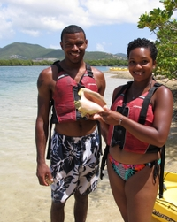 St Thomas Shore Excursion: Hassel Island Kayak, Hike and Snorkel Tour