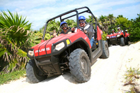 Cozumel Shore Excursion: 4x4 Rhino and Snorkel Adventure Tour