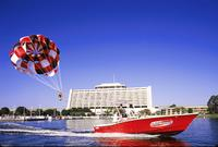 Parasailing at Disney's Contemporary Resort