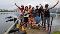 Carioca Sunset Bike Tour Including Beaches Lagoon and Botanical Garden Visit image 1