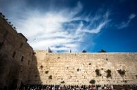 Jerusalem from Tel Aviv: Dome of the Rock and Western Wall