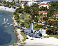 Miami Shore Excursion: Private Pre- or Post-Cruise Round-Trip Helicopter Transport to Key West, Key Largo or Marathon
