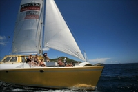 Catamaran Party Cruise to Nevis from St Kitts