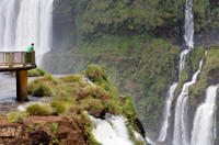 Full-Day Sightseeing Tour of the Argentinian and Brazilian Sides of Iguassu Falls from Puerto Iguaz�