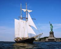 Statue of Liberty Tall Ship Sailing Cruise Picture