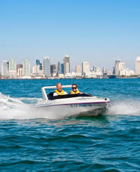 San Diego Harbor Speed Boat Adventure