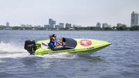 Small-Group Tour: Charleston Harbor by Speedboat with Boating Lesson
