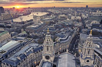 Private London Tour by Traditional Black Cab: City Sights from Above and Below