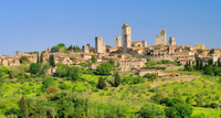 Excursion en bord de mer à Livourne: Excursion privée d'Une journée à Sienne et San Gimignano - Florence -