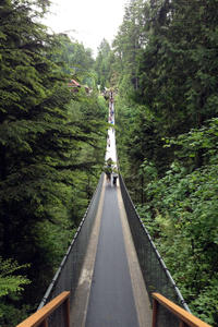 Vancouver City Tour Including Capilano Suspension Bridge