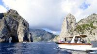 Capri Boat Experience with Limoncello Tasting from Naples