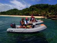 Self-Drive Boat Tour with Snorkeling from St George