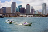 Miami Speedboat Tour: Captain Your Own Speedboat