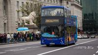 London Hop-On Hop-Off Bus Ticket with Boat Ride and Walking Tour
