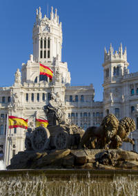 Madrid Scooter Tour: City Highlights