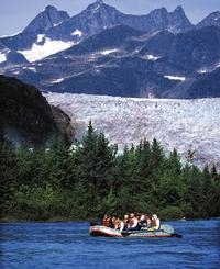 Juneau Shore Excursion: Mendenhall Glacier Rafting Tour