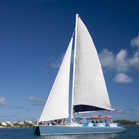 Catamaran Cruise with Snorkeling, Paddleboarding and Kayaking image 1
