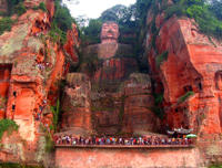 2 Day Private Tour of Leshan Grand Buddha and Emei Shan with Monastery Stay