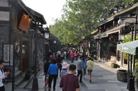 Chengdu Walking Tour Including Teahouse and Street Food