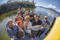 Fresh from the Ocean: Tasmanian Seafood Gourmet Lunch Cruise image 1