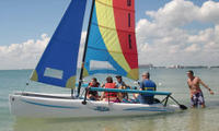 Catamaran Sailing Lesson or Boat Rental in Biscayne Bay Picture