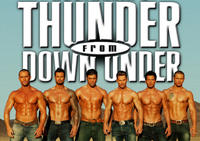 Thunder from Down Under im Excalibur Hotel and Casino