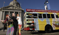 Ride the Magic Bus: A 1960s-Era San Francisco Tour