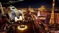 Vegas Night Out: Las Vegas Night Flight and Dinner for Two