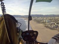 Helicopter Tour over California's Coastline with P