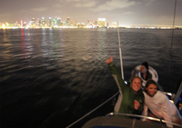Nighttime Sailing Trip from San Diego