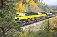 Alaska Railroad Adventure with Spencer Glacier Float Trip