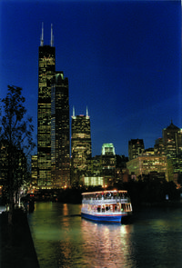 Chicago Architecture Boat Tour by Night